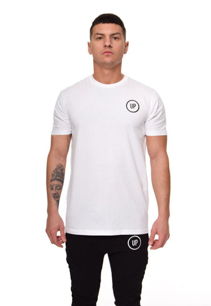 Unique Physique ORIGINAL WHITE FITTED T-SHIRT