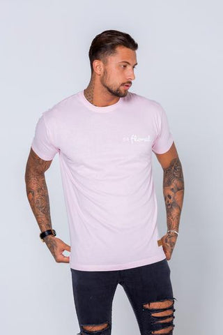 54 FLORAL BASE T-SHIRT | LIGHT PINK