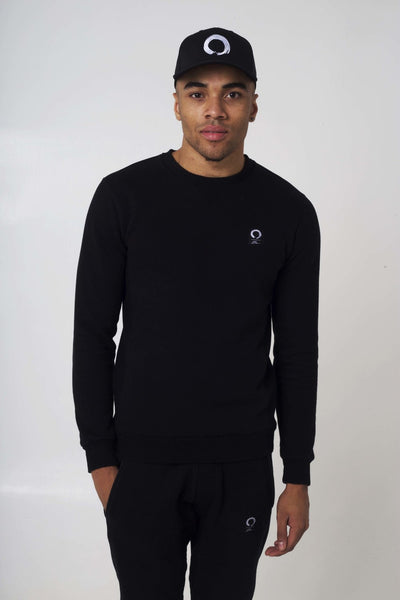 Zen BLACK CREW NECK
