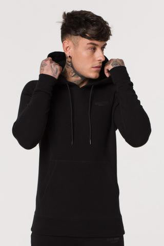 Muscle Monkey BLACK SHADOW PULLOVER HOODY
