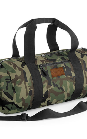 Owkay Clothing BARREL BAG CAMO