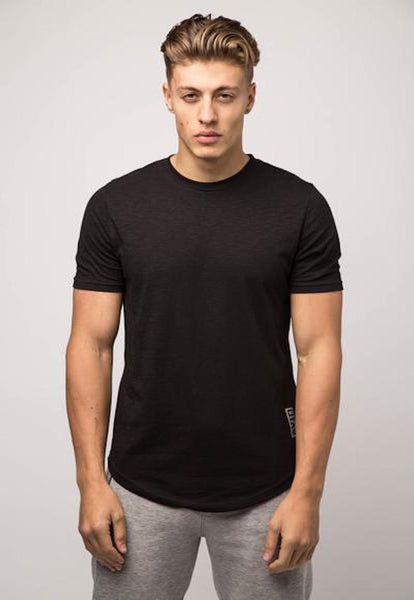 Avid & Co. Slubbed Tee - Black