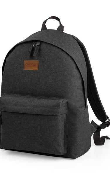 Owkay Clothing BACKPACK ANTHRACITE