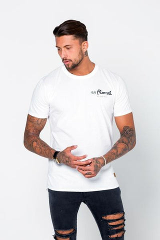54 FLORAL BASE T-SHIRT | WHITE
