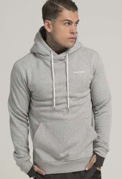 Illusive London A OVERHEAD HOODIE - GREY