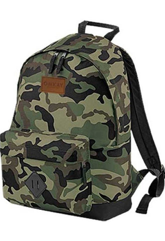 Owkay Clothing BACKPACK CAMO