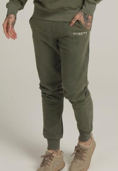 Illusive London A Sand Blast Joggers – Khaki