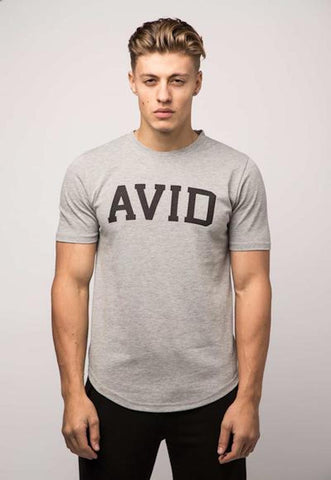 Avid & Co. Signature Tee - Grey Marl