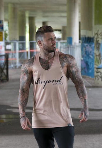 Beyond Genetics ICON LIFESTYLE VEST - TAN