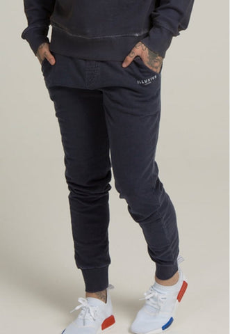 Illusive London A Sand Blast Joggers – Navy