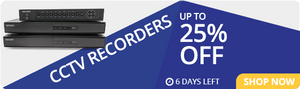 CCTV Recorders: up to 25% off