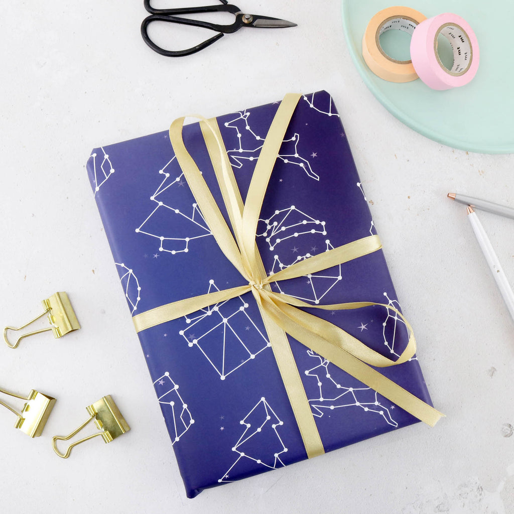 Constellation Wrapping Paper