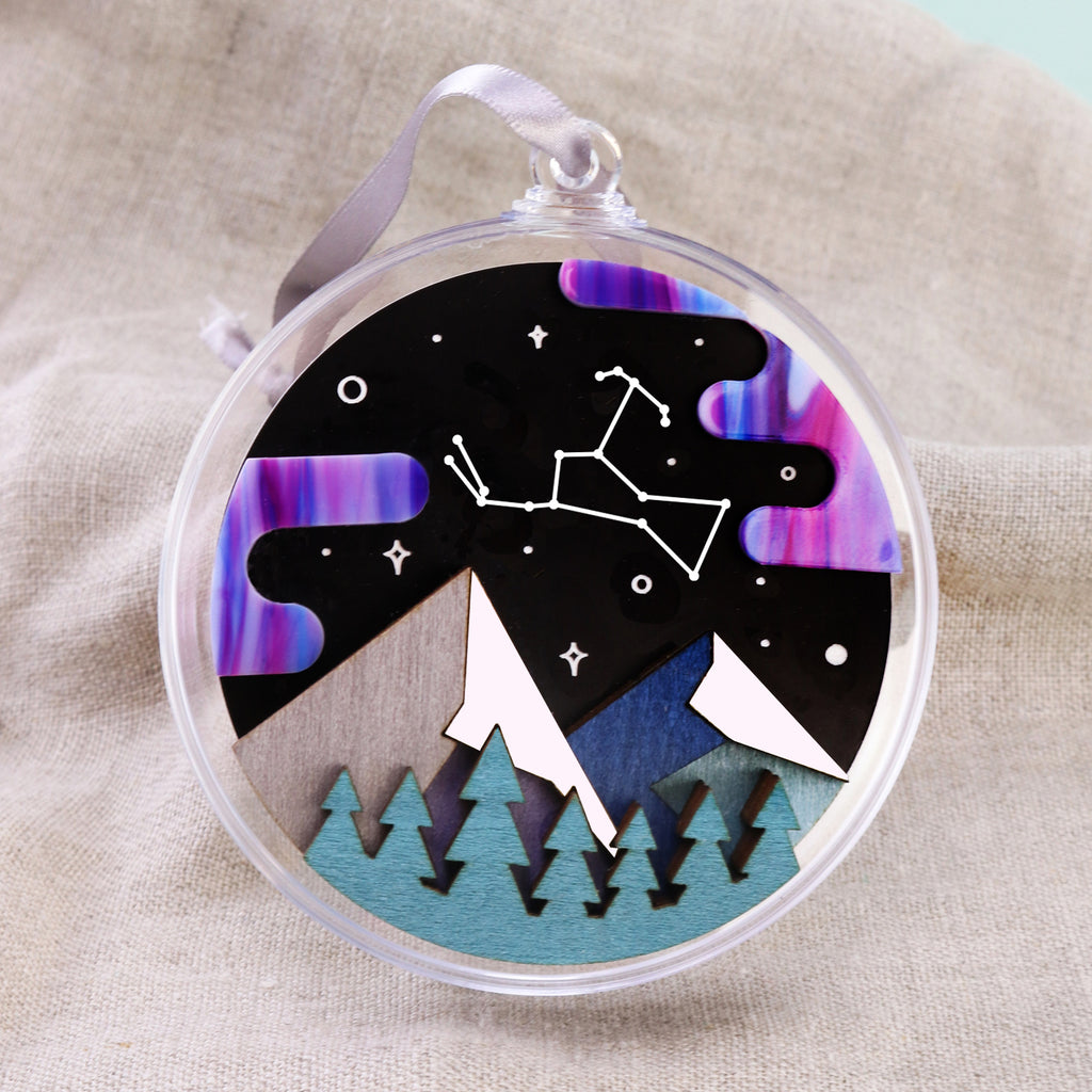Constellation 3D Layered Bauble