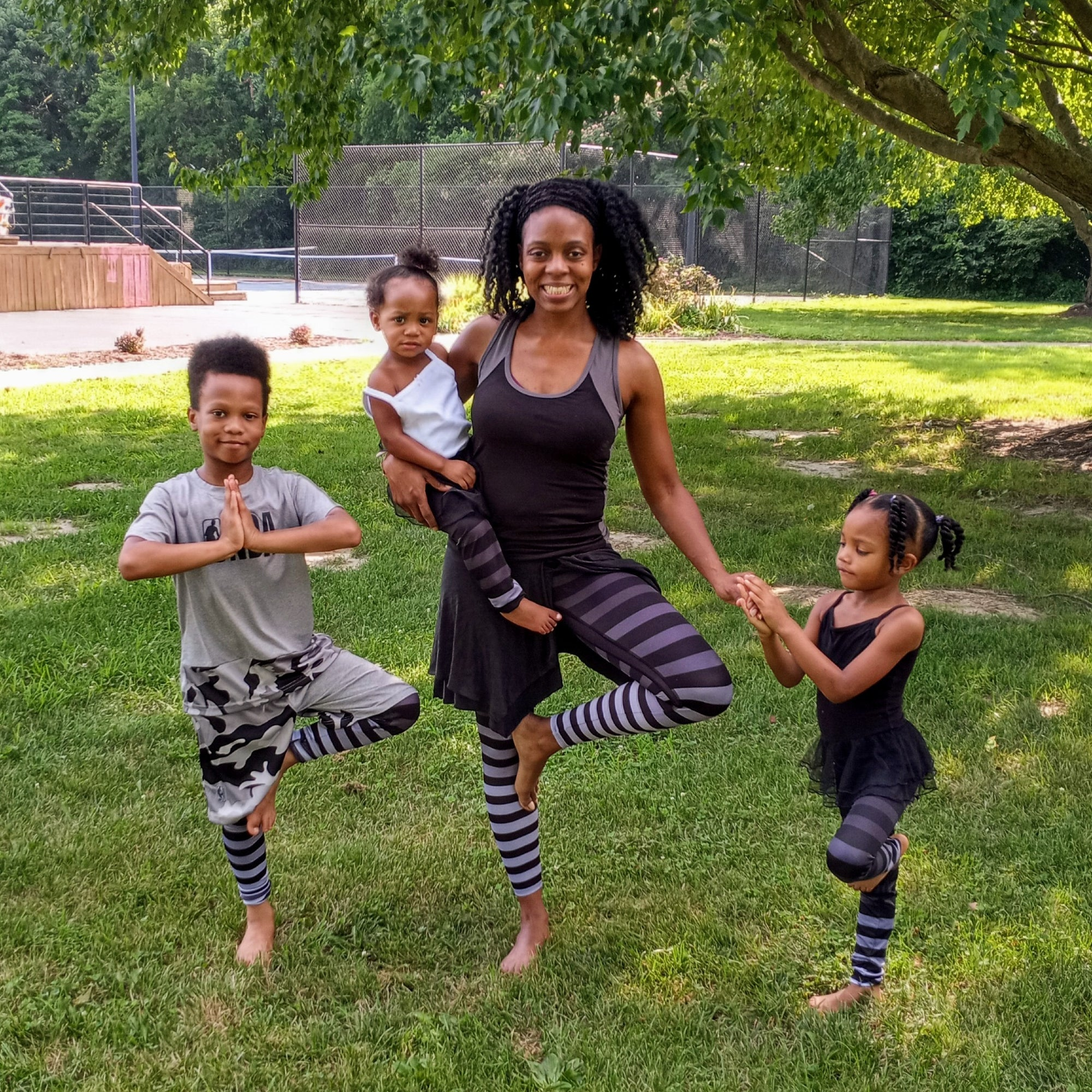 Meet SonJoria Sydnor:  Author of 'Our Family's Doing Yoga'