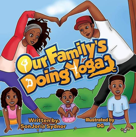 Book Cover Our Family's Doing Yoga