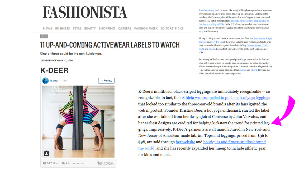 b441efbd71 Press Mentions About Our Striped Leggings