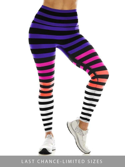 Sneaker Length in Colleen Stripe - SNEAKER LENGTH