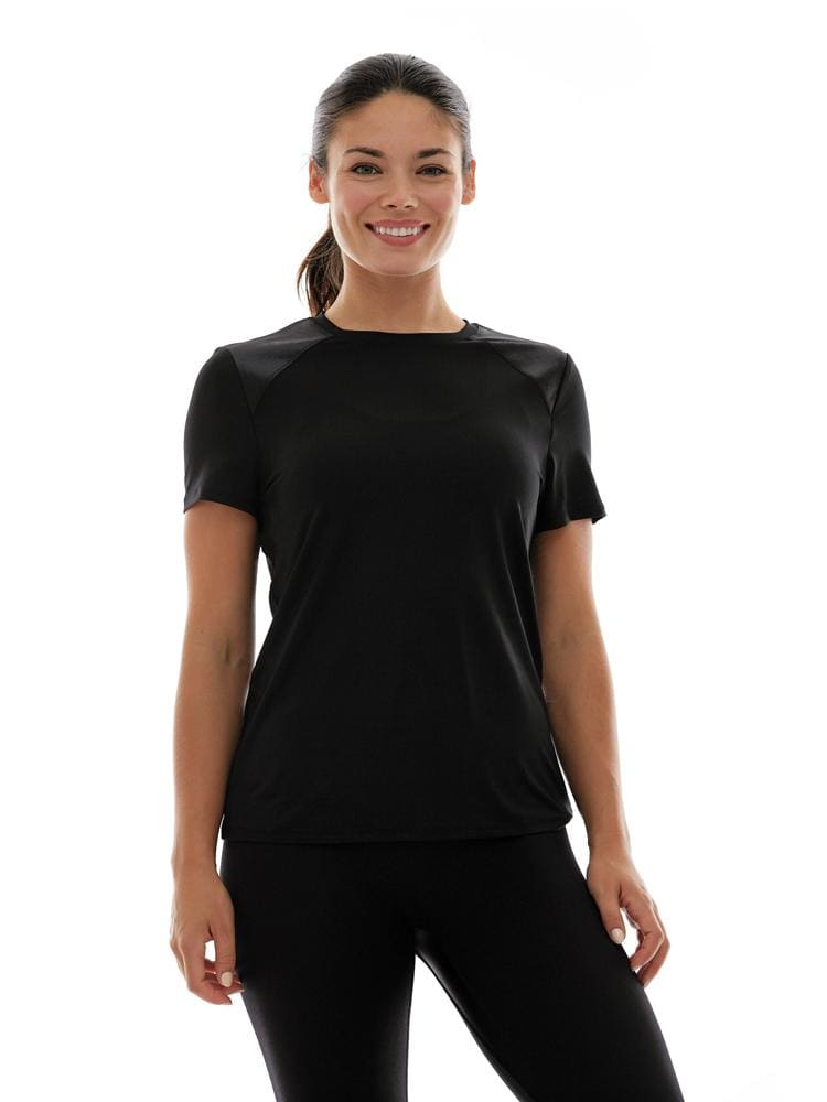 Combo Tee in Black - TRICOTS TOPS