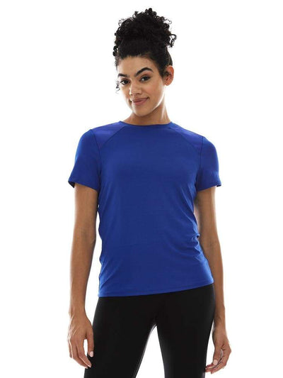 Combo Tee in Royal - TRICOTS TOPS