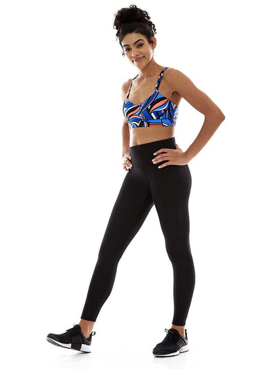 Criss Cross Sports Bra in Superset - BRA TOP