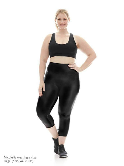 Hi-Luxe Capri in Black - CAPRI