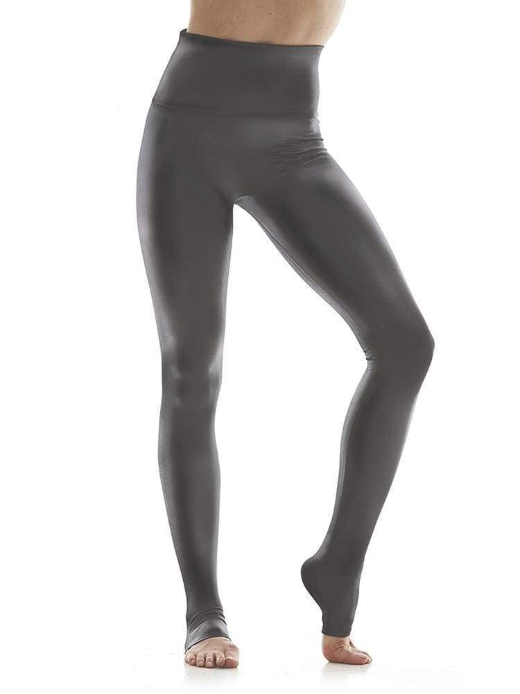 Hi-Luxe Legging in Charcoal - LEGGINGS