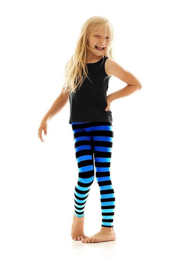 Kids Legging in Alexis Stripe - Kids Leggings