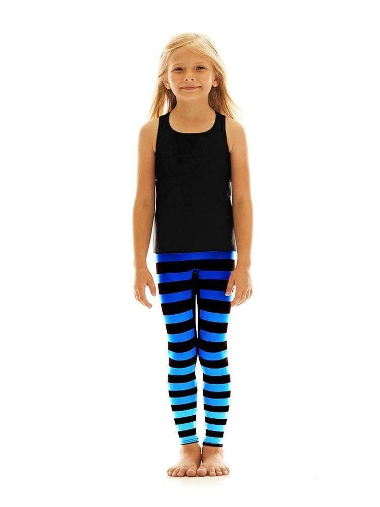 Kids Legging in Alexis Stripe