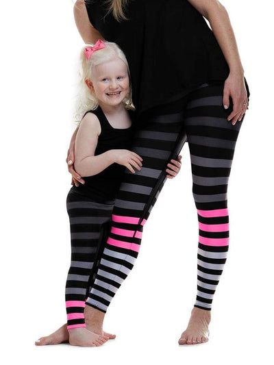 Kids Legging in April Stripe - KIDS LEGGINGS