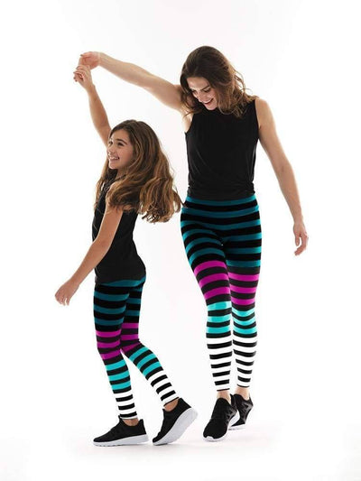 Kids Legging in Candice Stripe - KIDS LEGGINGS