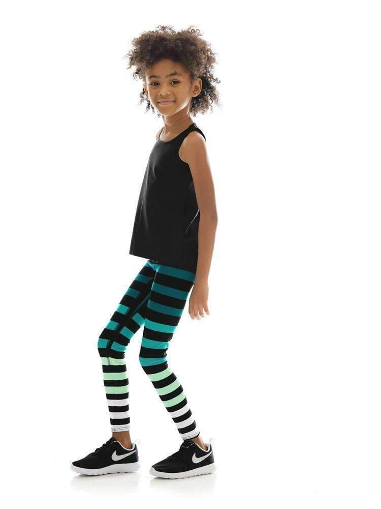 Kids Legging in Caroline Stripe - Kids Leggings