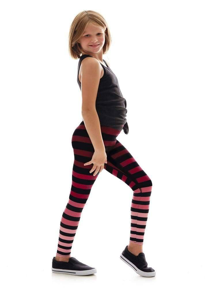 Kids Legging in Cathy Stripe - KIDS LEGGINGS