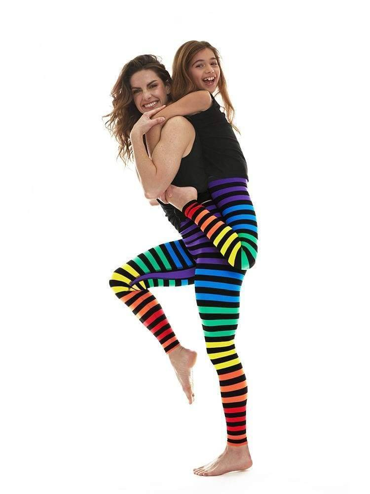 Kids Legging in Dana Stripe