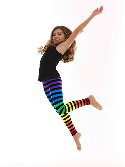 Kids Legging in Dana Stripe - KIDS LEGGINGS