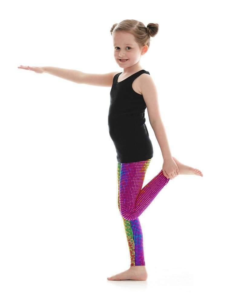 Kids Legging in Disco Dot