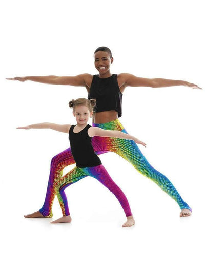Kids Legging in Disco Dot - KIDS LEGGING