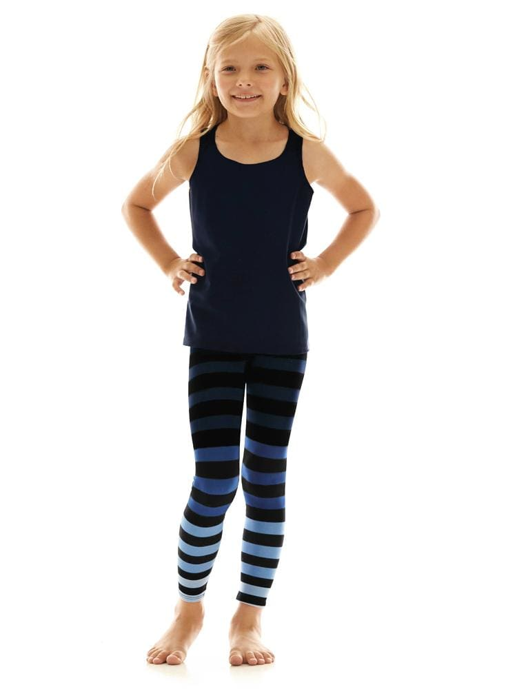 Kids Legging in Emmie Stripe