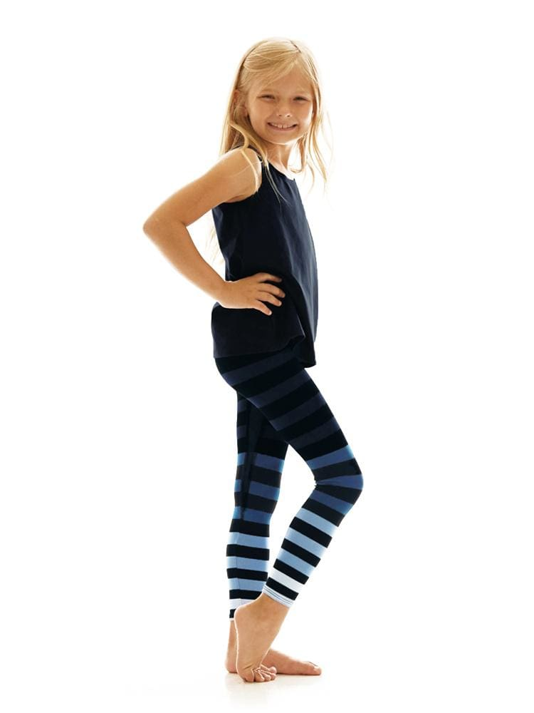 Kids Legging in Emmie Stripe - KIDS LEGGINGS