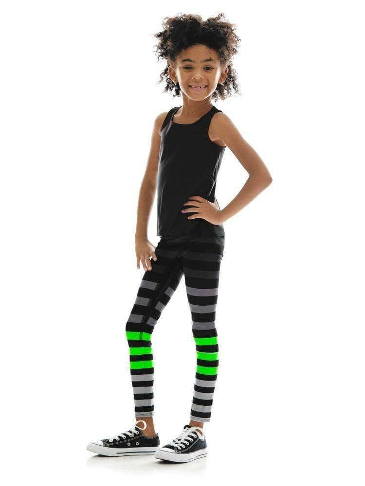 Kids Legging in Erika Stripe - Kids Leggings