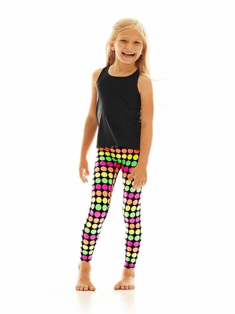 Kids Legging in Glow Dot