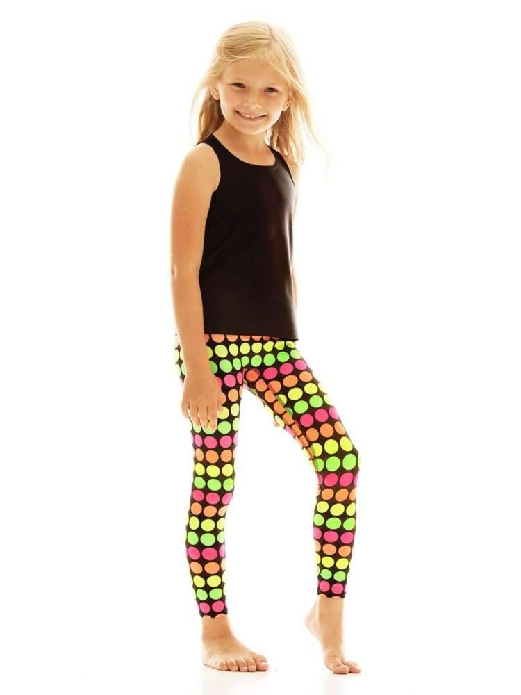 Kids Legging in Glow Dot - Kids Leggings