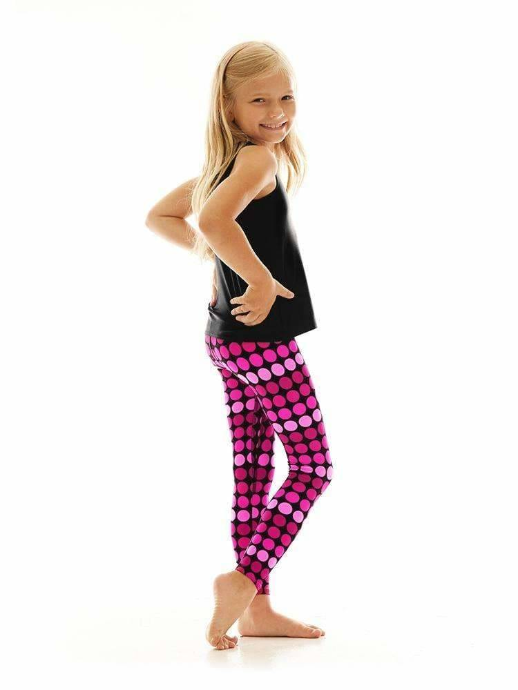 Kids Legging in Hot Dot