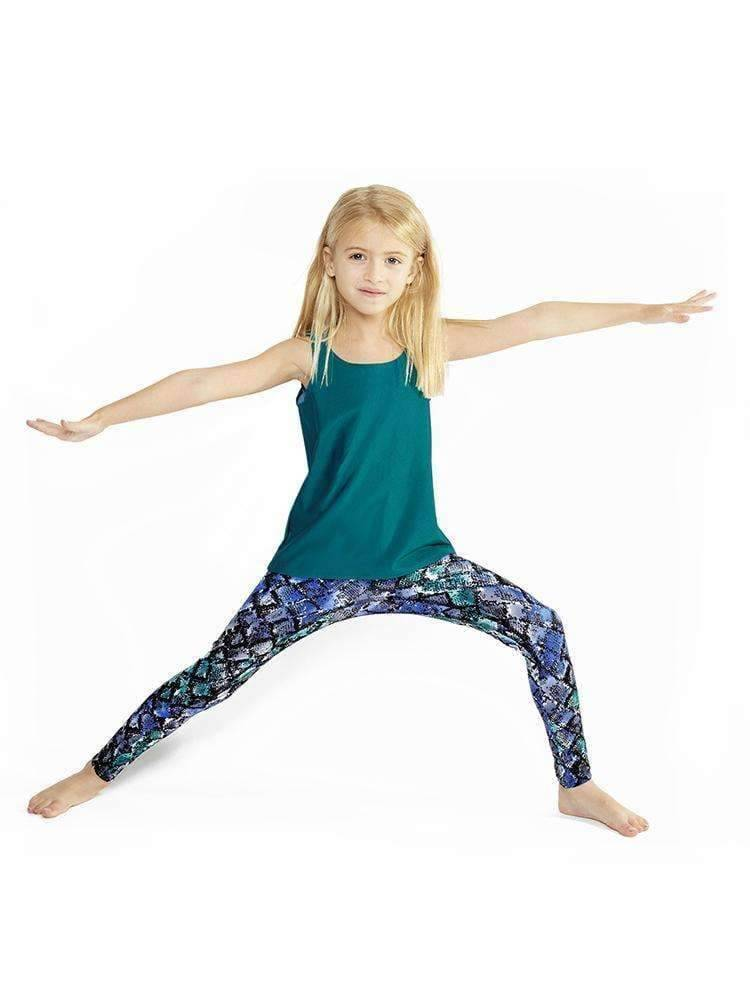 Kids Legging in Hustle - Kids Leggings