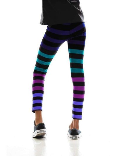 Kids Legging in Izzy Stripe - KIDS LEGGINGS