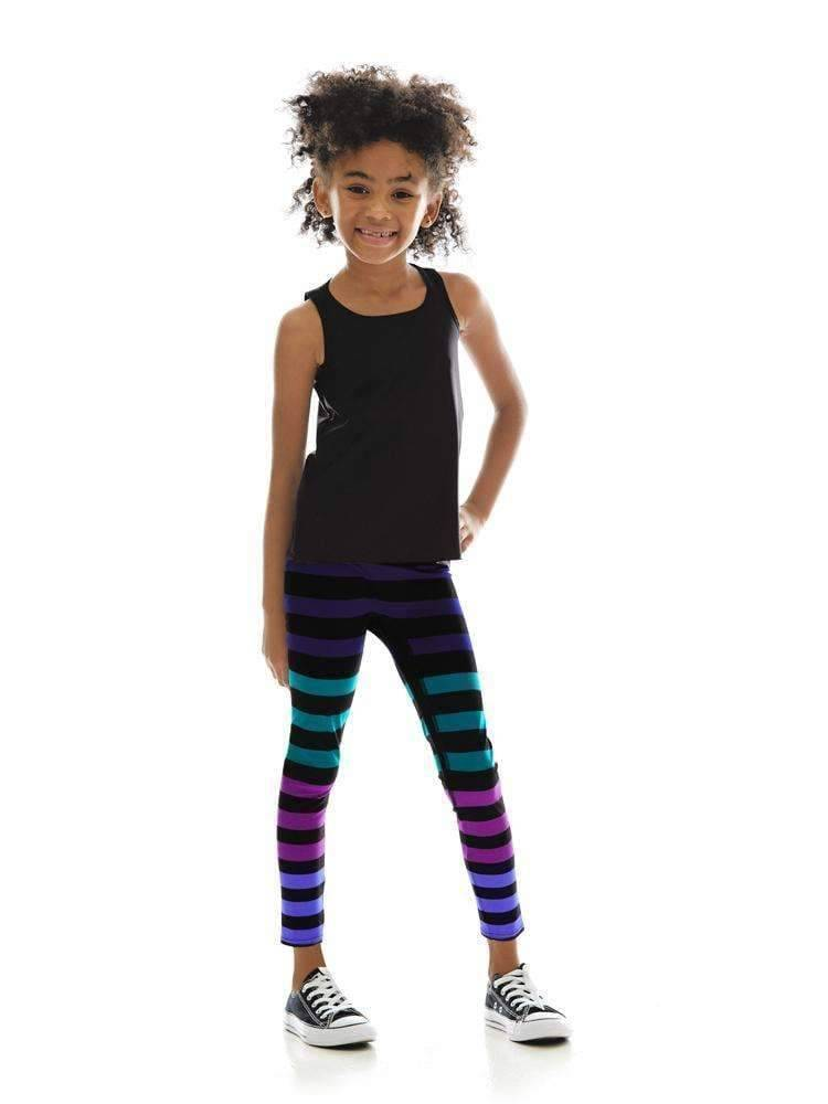 Kids Legging in Izzy Stripe