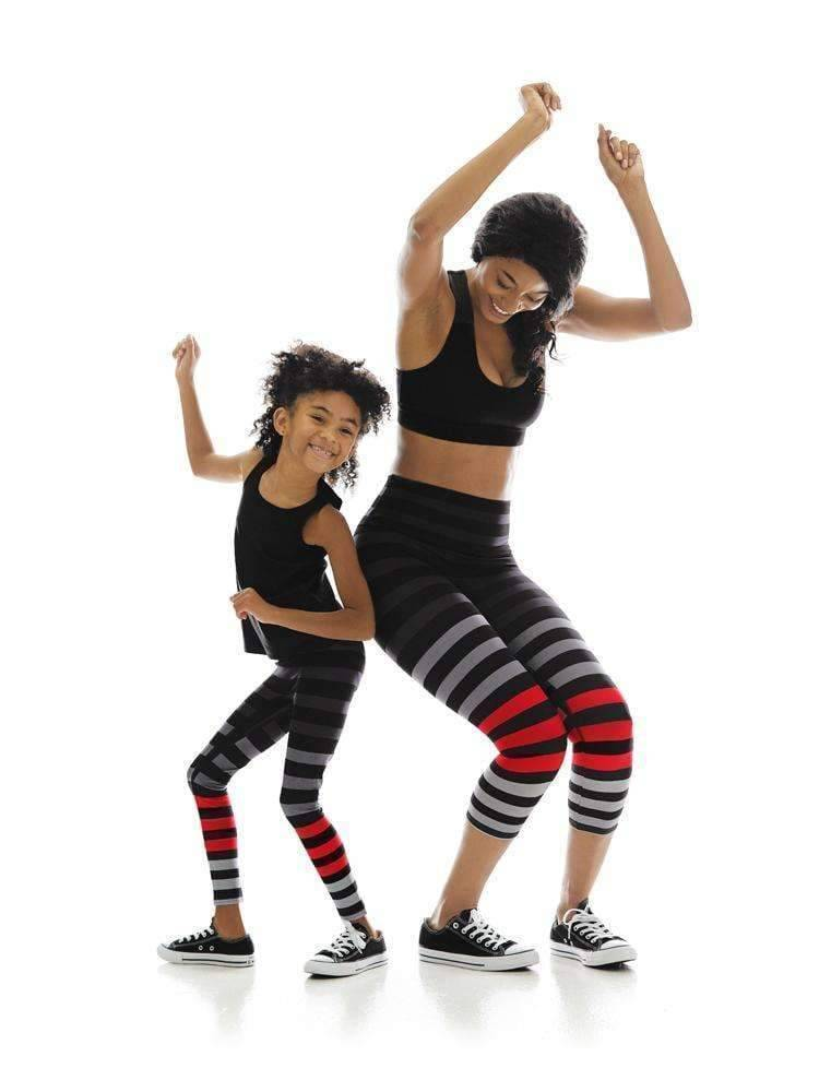 Kids Legging in Jennifer Stripe
