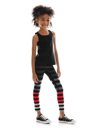 Kids Legging in Jennifer Stripe - Kids Leggings