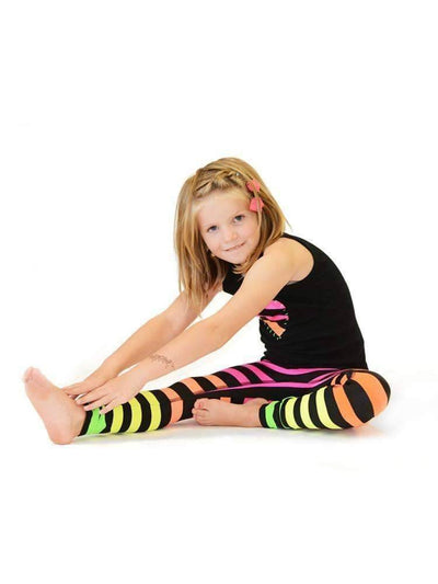 Kids Legging in Josephine Stripe - Kids Leggings