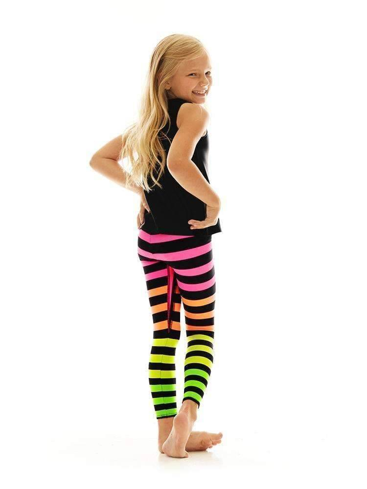 Kids Legging in Josephine Stripe