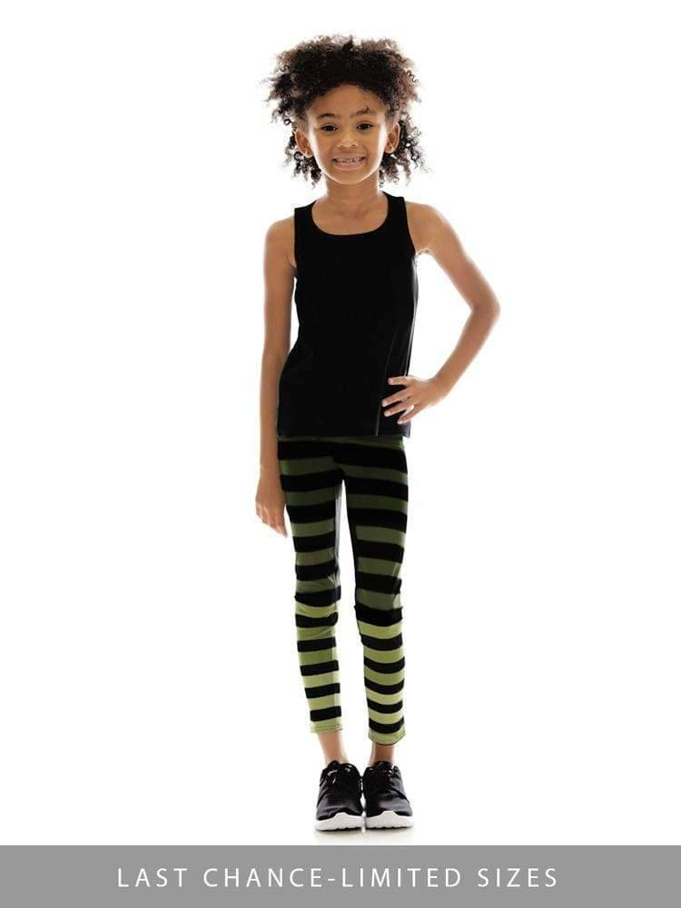 Kids Legging in Maranda Stripe - Kids Leggings